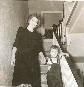 Doris and son Lance at home in Philadelphia