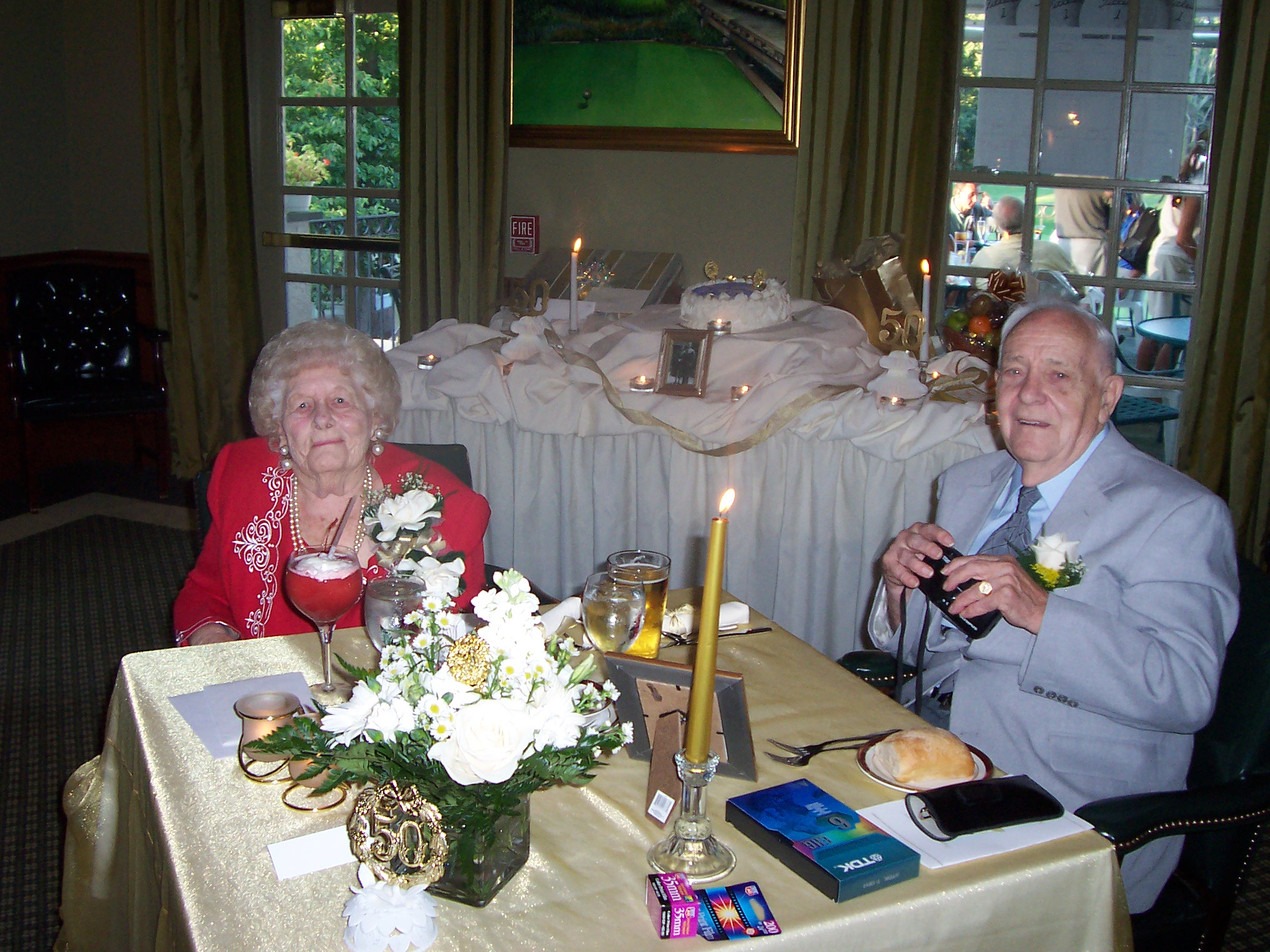 Charles and Virginia's 50th. Anniversary