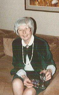 Doris at Christmas 1980's