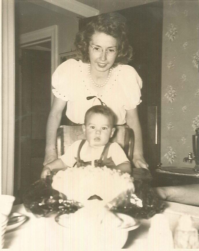 Doris with Son Lance